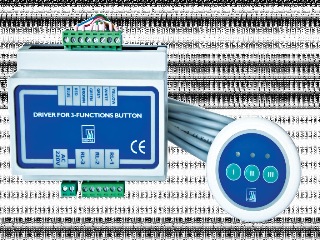 "GEMAS ""Electronic Button"" 64mm"