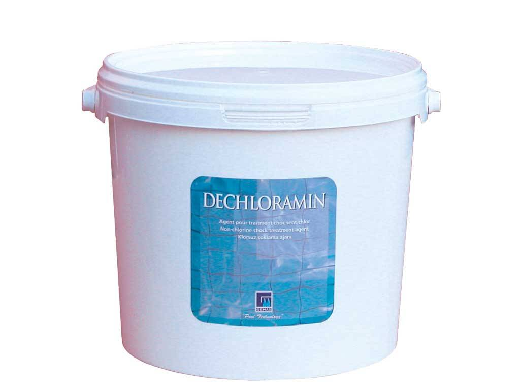 """DECHLORAMIN""  Non-Chlorine Shock Treatment"