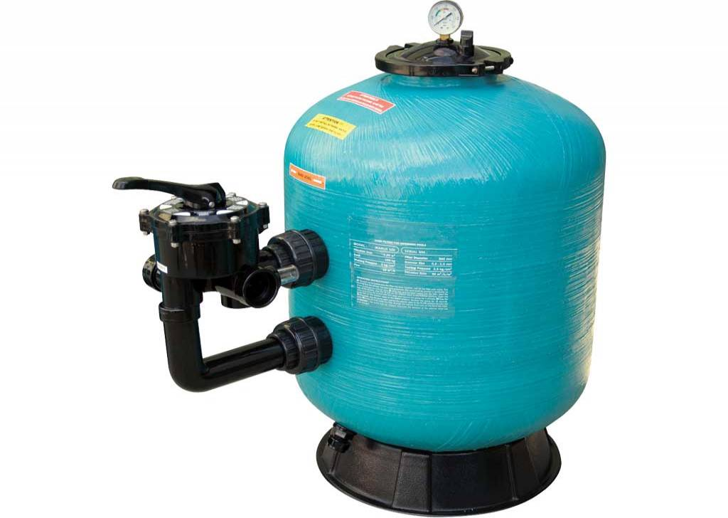 "GEMAS ""TURBIDRON CL"" SIDE MOUNTED SAND FILTERS"