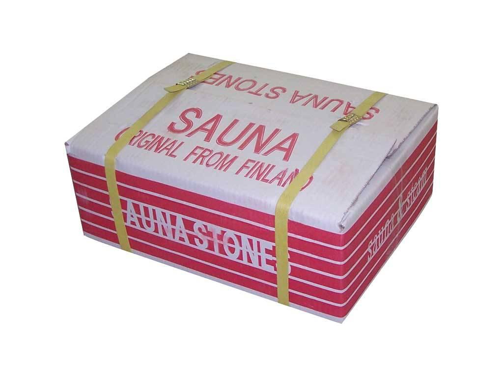 Heat-resist volcanic sauna stones