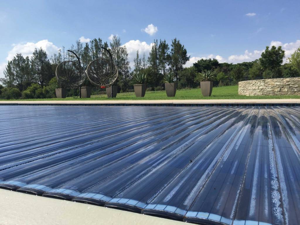 Automatic PVC Slatted Pool Cover