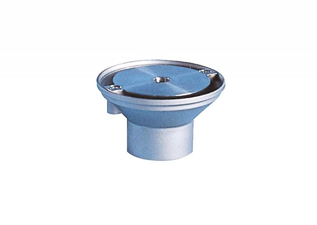 Floor Inlet With Stainless Steel Lid - Flow Adjustable