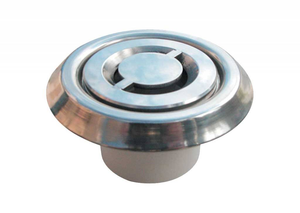 Stainless Steel Floor Inlet - Constant Flow