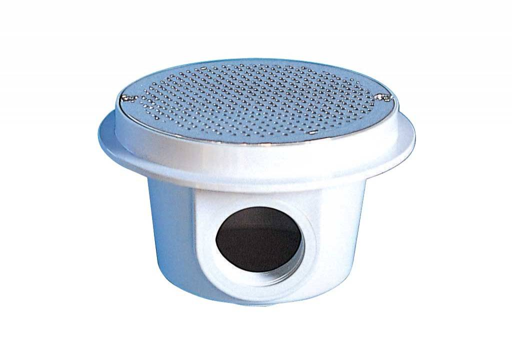 Circular Main Drain with St. Steel Grille for Concrete Pools
