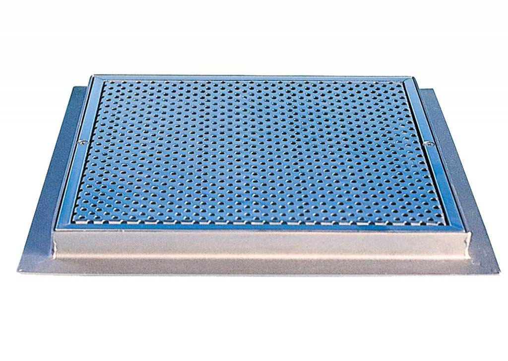 St. Steel Squared Grilles for Main Drain for Concrete Pools