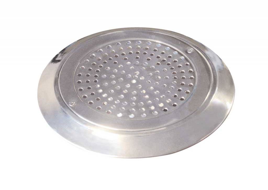 St. Steel Circular Grilles for Main Drain for Concrete Pools