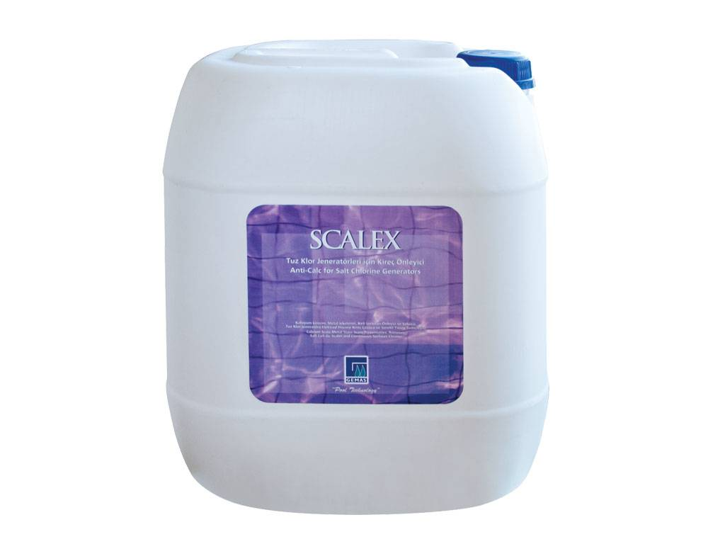 """SCALEX"" Anti-Lime for Salt Chlorine Generators"