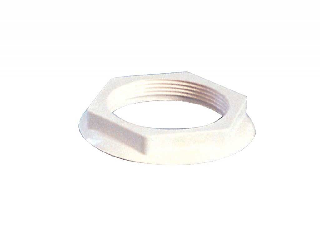 Nut for Wall Inlets, for FR-Polyester Pools