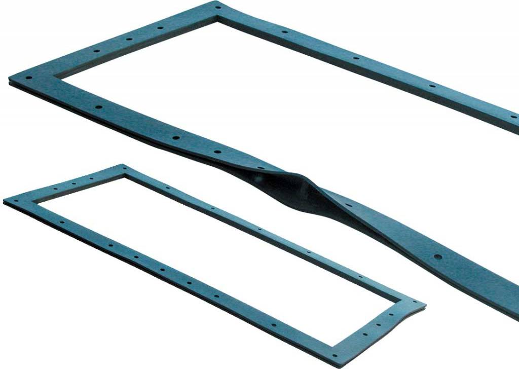 Sandwich Gaskets for Skimmers