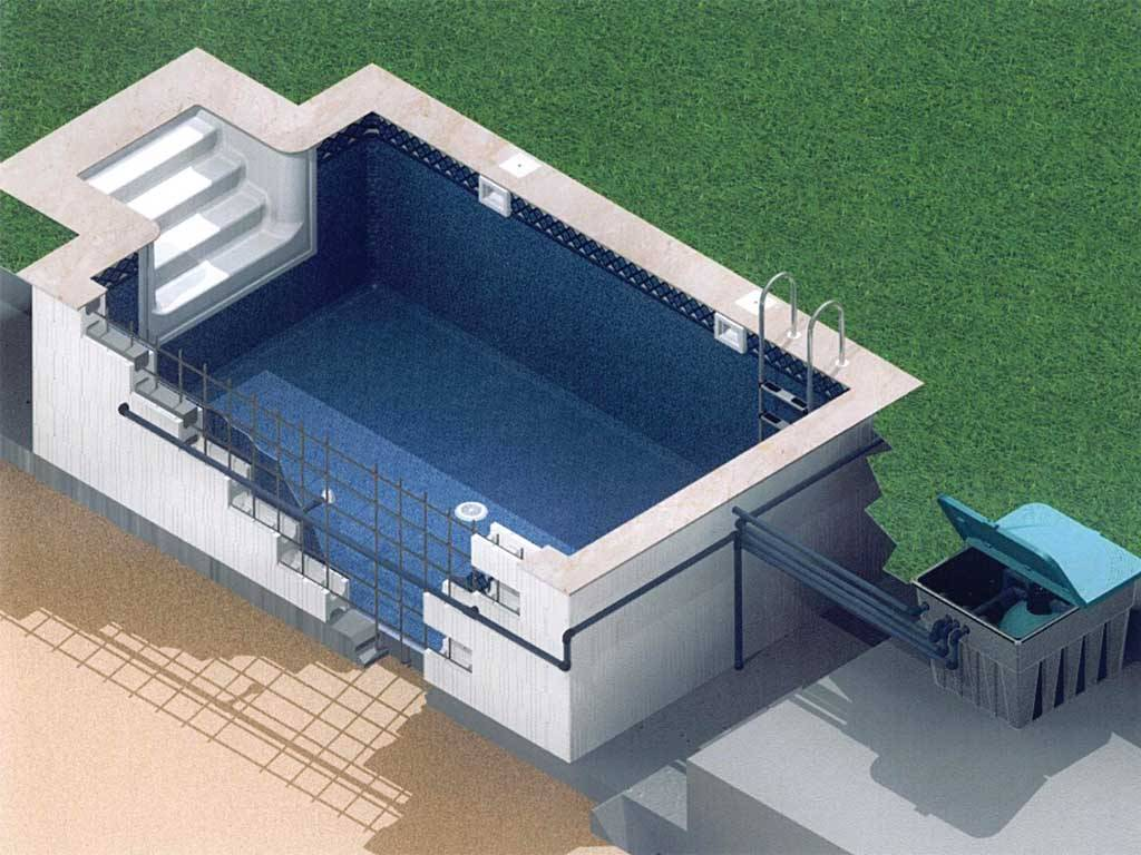 Stropool RECTON-SK Hızlı Havuz Sistemi