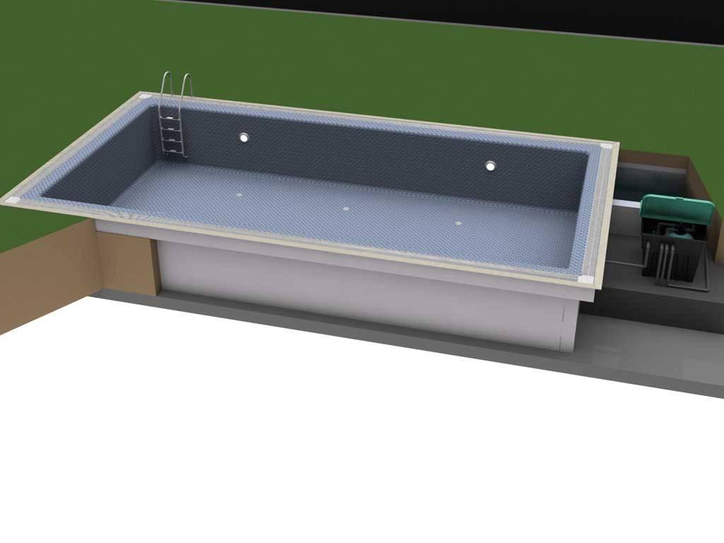 Stropool RECTON-TM Hızlı Havuz Sistemi